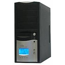 Eurocase ML 5412 BlackSilver, PFC, 450W, CE, 2xUSB, display
