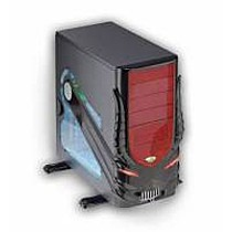 FOXCONN CASE 3GTH-202 BLACK-RED 400W Gaming Tower Diabolic