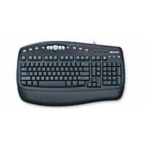 Microsoft MultiMedia Keyboard Black PS/2 English, OEM
