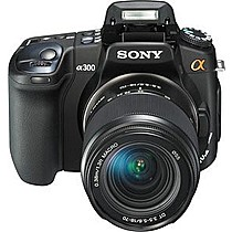 Sony A300 + DT 18-70 mm + DT 55-200 mm