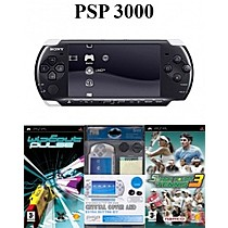 Sony PSP 3000 Black + 5in1 Kit + 2 hry