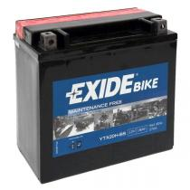 EXIDE BIKE YTX20-BS 18Ah, 12V