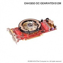 ASUS EAH3850 OC GEAR/HTDI, 512MB DDR3, fan, PCIe