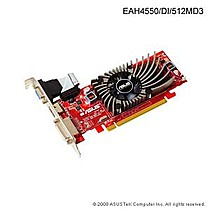 Asus EAH4550/DI, 512MB DDR3, fan, PCIe