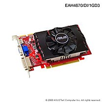 Asus EAH4670/DI, 1GB DDR3, fan, PCIe