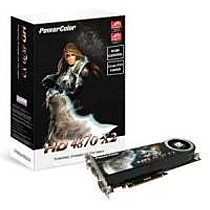 Powercolor AX4870X2, 2GB DDR5, fan, PCIe