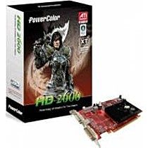 PowerColor Radeon HD 2600XT, 512MB, DDR2, fan, PCIe