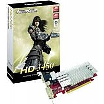PowerColor Radeon HD 3450 SCS, 256MB, DDR2, heatsink, PCIe