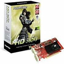 PowerColor Radeon HD 3650, 512MB, DDR2, fan, PCIe