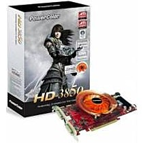 PowerColor Radeon HD 3850 PCS, 512MB, DDR3, fan, PCIe