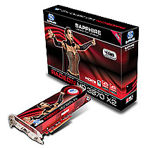 Sapphire Radeon HD 3870 X2, 1024MB DDR3, Water Cooler, PCIe