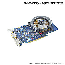 ASUS EN9600GSO MAGIC/HTDP, 512MB, fan, PCIe