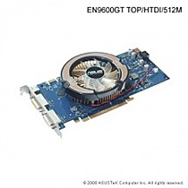 ASUS EN9600GT TOP, 512MB, fan, PCIe