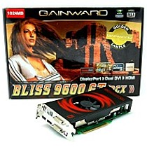 Gainward 9600GT Golden Sample, 1024MB DDR3, fan, PCIe