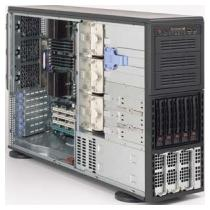 SC748TQ-R1200W (4/8 cpu) 5sATA SCA s SES2, redundant PS,4U