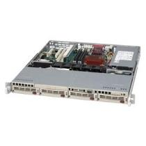 SC813MT-300C 1U 4x SATA hot-swap CD,FD 300W