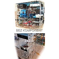 ASUS TRANSPARENT CHASSIS MDTower ATX ,noPS, noRMA