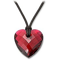 Swarovski Bordeaux Heart