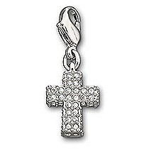 Swarovski Cross Charm