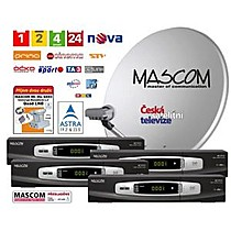 Mascom MC1101B/80MBL QUAD