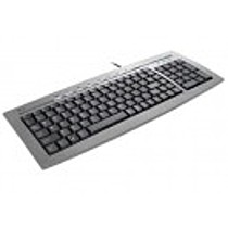 Trust Slimline Keyboard KB-1400S, CZ, USB / PS2