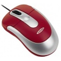 Ednet Notebook Optical Mouse Combo, USB / PS / 2