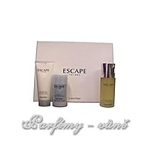 Calvin Klein Escape Edt 100ml + 100ml balsám po holení + 75ml deo stick