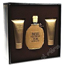 Diesel Fuel for life Edt 75ml +sprchový gel 50ml + balzám po holení 50ml