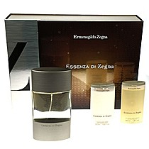 Ermenegildo Zegna Essenza Edt 100 ml + 50ml balsam po holení + 50ml sprchový gel