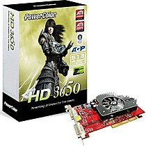 PowerColor HD3650 512MB DDR2, AGP
