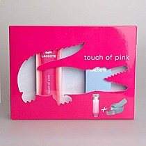 Lacoste Touch of Pink edt 90ml + pásek