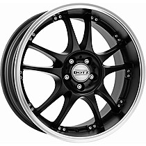 Dotz Brands Hatch dark 7x17 rozteč 4x100 ET38