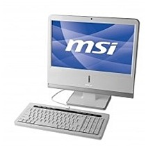 MSI NETON AP1900-02CZ white s WIN XP HOME CZ (Atom N270, 18.5inLCD, 160GB HDD, 1GB SO-DDR2 max2GB, VGA, WiFi, DVD vypalovačka, 7.1, GLAN, bílý)