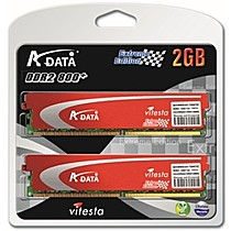 A-data 2GB=2x1GB DDR2 PC6400 800MHz ADATA gamer edition (kit 2ks 1024MB)
