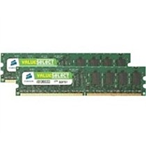 CORSAIR 4GB=2x2GB DDR2 PC5300 667MHz CL5 (kit 2ks 2048MB)