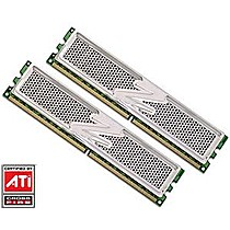 OCZ 2GB=2x1GB DDR2 PC6400 800MHz 4-4-4-15 (Platinum Rev2 kit 2ks 1024MB s chladičem XTC)