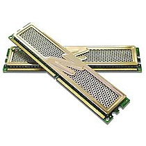 OCZ 2GB=2x1GB DDR2 PC8000 1000MHz 5-6-6-15 (Gold kit 2ks 1024MB s chladičem XTC)