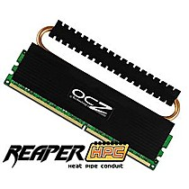 OCZ 2GB=2x1GB DDR2 PC8500 1066MHz 5-5-5-15 (Reaper HPC kit 2ks 1024MB s chladičem HPC)