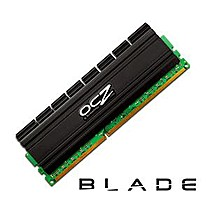 OCZ 4GB=2x2GB DDR2 PC8500 1066MHz 5-5-5-18 (Blade kit 2ks 2048MB s chladičem Blade Al)