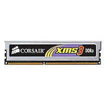 CORSAIR 4GB=2x2GB DDR3 1333MHz XMS3 PC3-10666 9-9-9-24 (kit 2ks 2048MB s chladičem)
