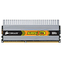 CORSAIR 4GB=2x2GB DDR3 1600MHz XMS3 DHX PC3-12800 9-9-9-24 (kit 2ks 2048MB s chladičem DHX Dominator)