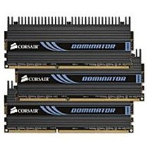 CORSAIR 6GB (3x2GB) DDR3 1600MHz XMS3 PC3-12800 CL8 s chladičem Dominator
