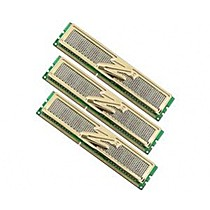OCZ 3GB=3x1GB DDR3 1333MHz Gold PC3-10666 9-9-9-20 (3GB, kit 3ks 1024MB s chladičem XTC, pro Core i7 Vdimm=1.65 a X58)