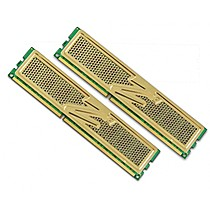 OCZ 4GB=2x2GB DDR3 1333MHz Gold PC3-10666 9-9-9-26 (4GB kit 2ks 2048MB s chladičem XTC)