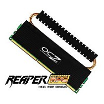 OCZ 4GB=2x2GB DDR3 1333MHz Reaper PC3-10666 6-6-6-18 (4GB Reaper HPC kit 2ks 2048MB s chladičem HPC)