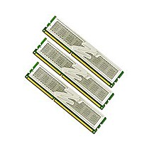 OCZ 6GB=3x2GB DDR3 1333MHz Platinum CL7 PC3-10666 7-7-7-24 (6GB, kit 3ks 2048MB s chladičem XTC pro Core i7 Vdimm=1.65V a X58)