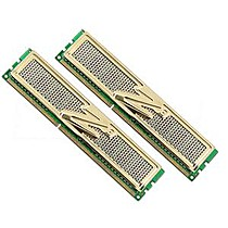 OCZ 4GB=2x2GB DDR3 1600MHz Gold PC3-12800 8-8-8-24 (4GB kit 2ks 2048MB s chladičem XTC)