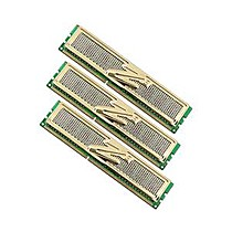 OCZ 6GB=3x2GB DDR3 1600MHz Gold PC3-12800 8-8-8-26 (kit 3ks 2048MB s chladičem XTC, pro Core i7 Vdimm=1.65V a X58)