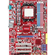 MSI MB 770-C45 (AM3, amd, DDR3, PCIE, IDE133+SATA2R, 5.1, GLAN)