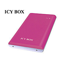 "ICY BOX IB-221StU-B externí USB20 box na 2.5"" SATA HDD, black"